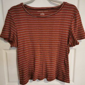 American Eagle Outfitters stripped shirt